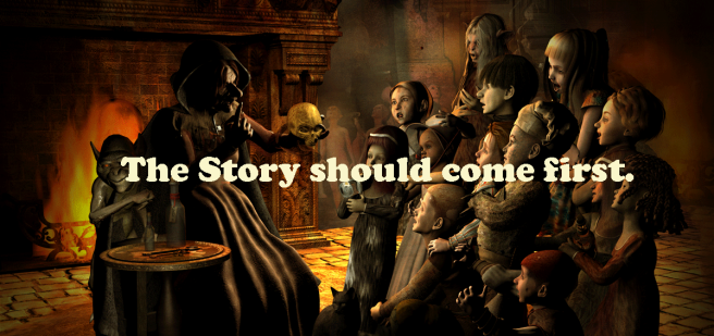 the-story-shouuld-come-first.
